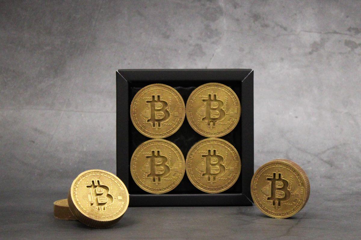 bitcoin munten goud 4 stuks melk