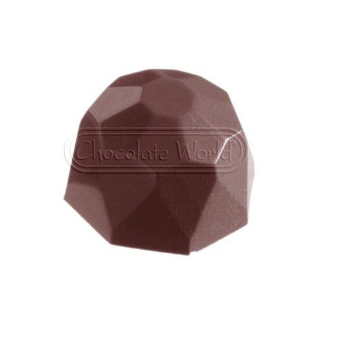 bonbonvorm chocolate world diamantje 24x 285x285x18 mm
