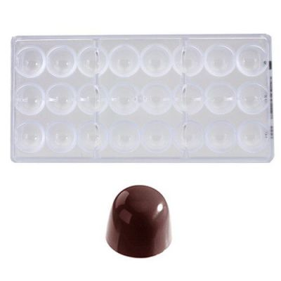 Bonbonvorm Chocolate World Kegel (24x) Ø29x25 mm