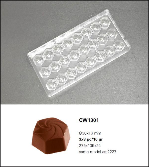 bonbonvorm chocolate world wiro 24x