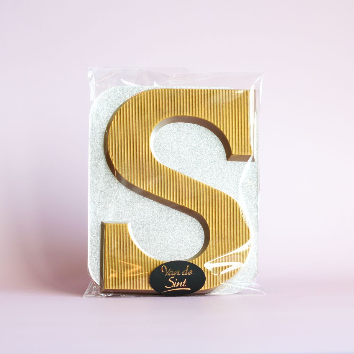 kleine letter s goud melk