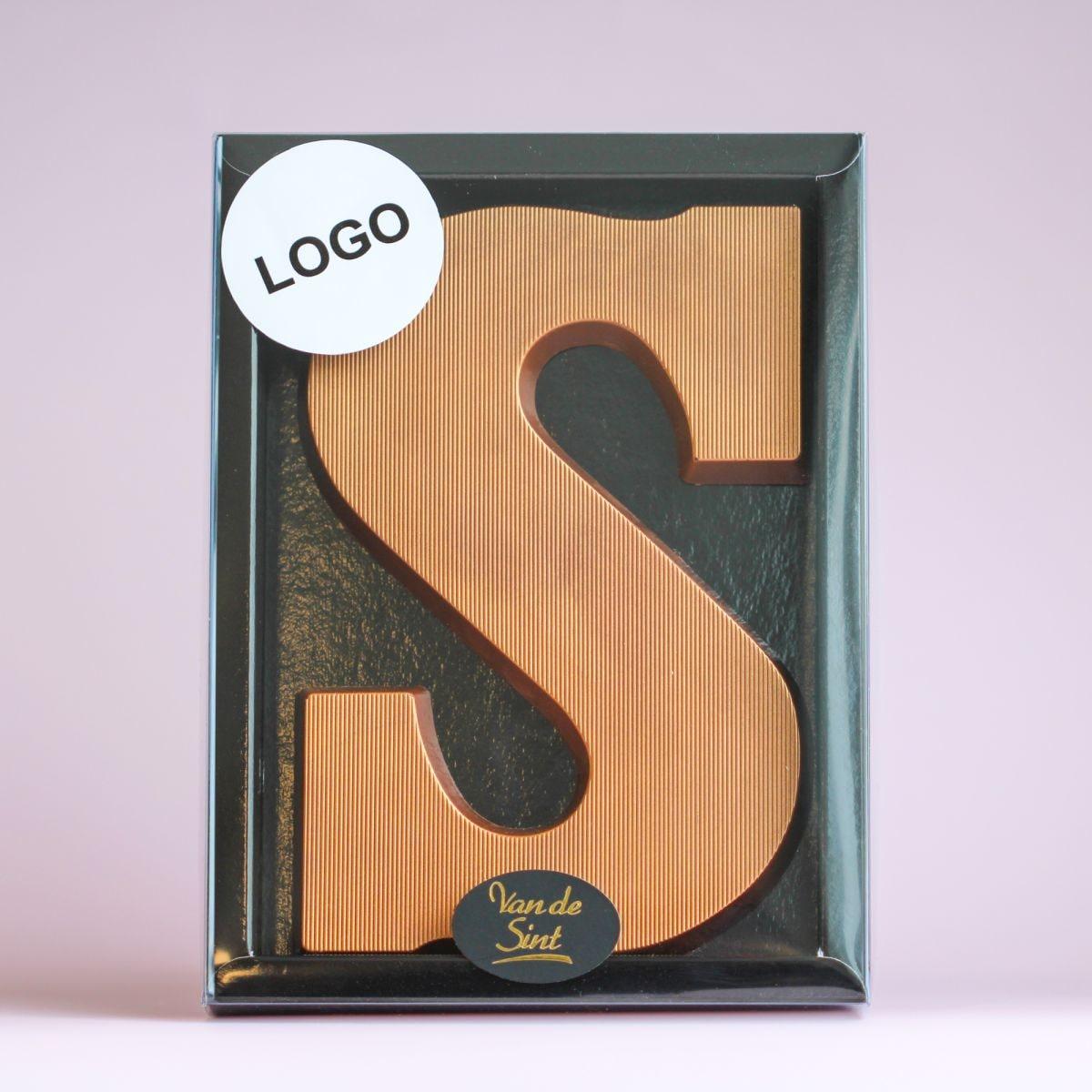 letter s brons melk