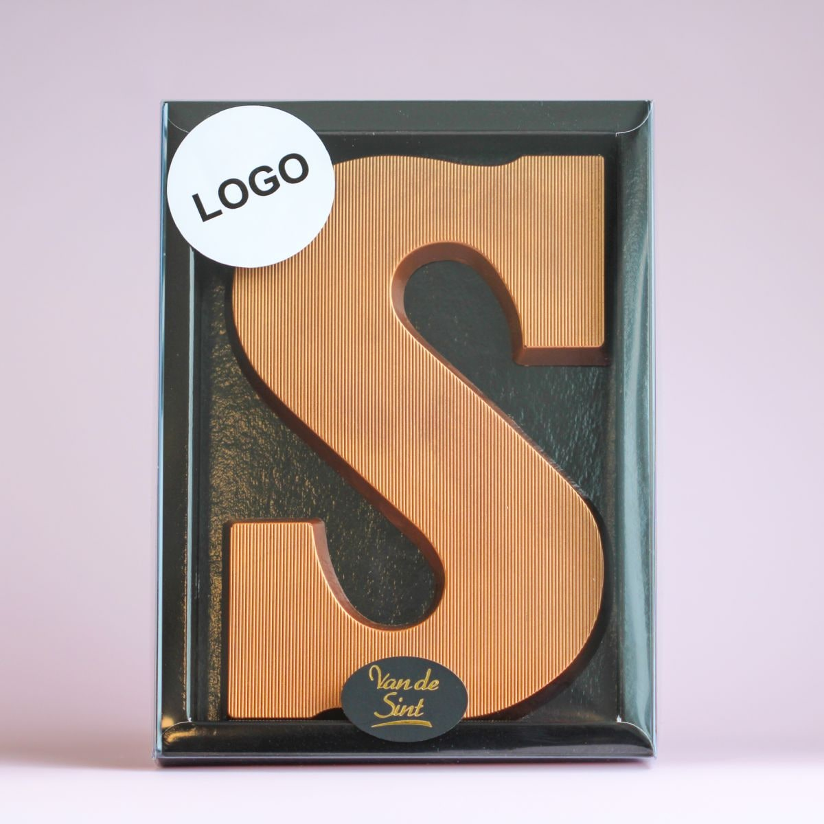 letter s brons puur